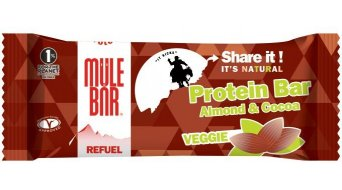 MuleBar ReFuel bar 42g veggie (chocolate/Mandel)