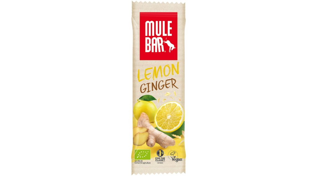 MuleBar Lemon Ginger (Zitrone/Ingwer) 40g-Riegel