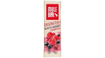 MuleBar Raspberry Blackcurrant Cranberry Red Fruits (Beerenmix) 40g-Riegel