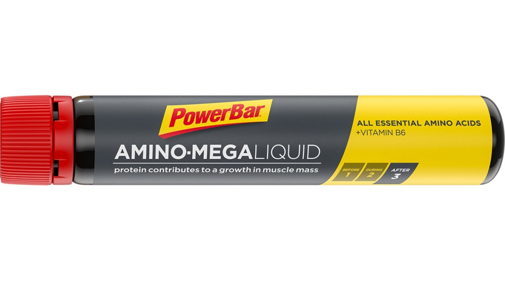 PowerBar Amino Mega Liquid geschmacksneutral 25ml-Ampulle
