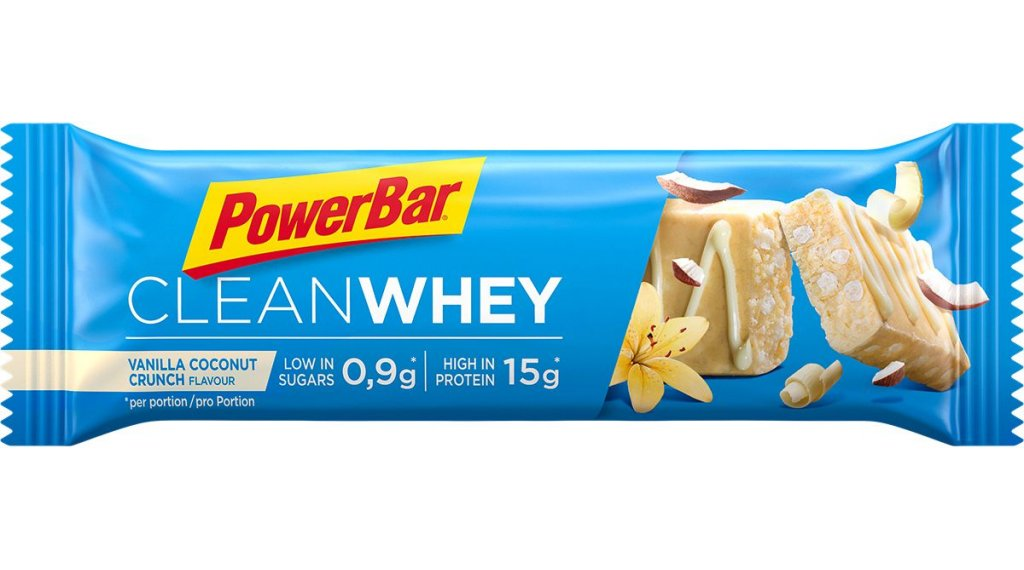 PowerBar Clean Whey Vanilla-Coconut-Crunch 45g-Riegel