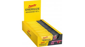 PowerBar Energize Advanced Raspberry Box mit 25*55g-Riegel