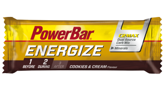 PowerBar Energize Cookies & Cream 55 gr.-barrita