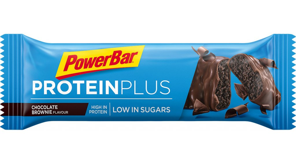 PowerBar Protein Plus Low Sugar Chocolate Brownie 35g-Riegel