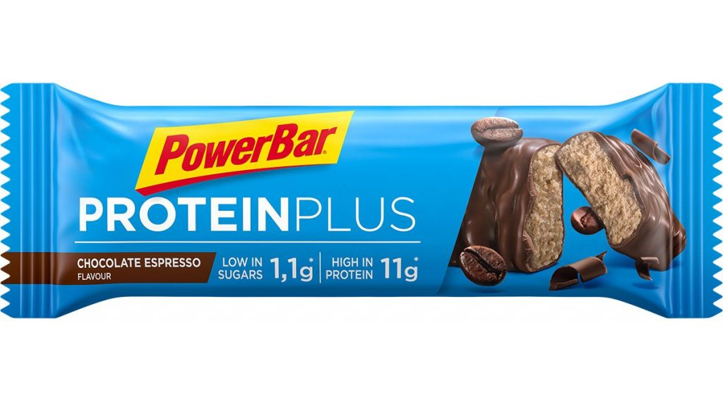 PowerBar Protein Plus Low Sugar Chocolate Espresso 35g-Riegel