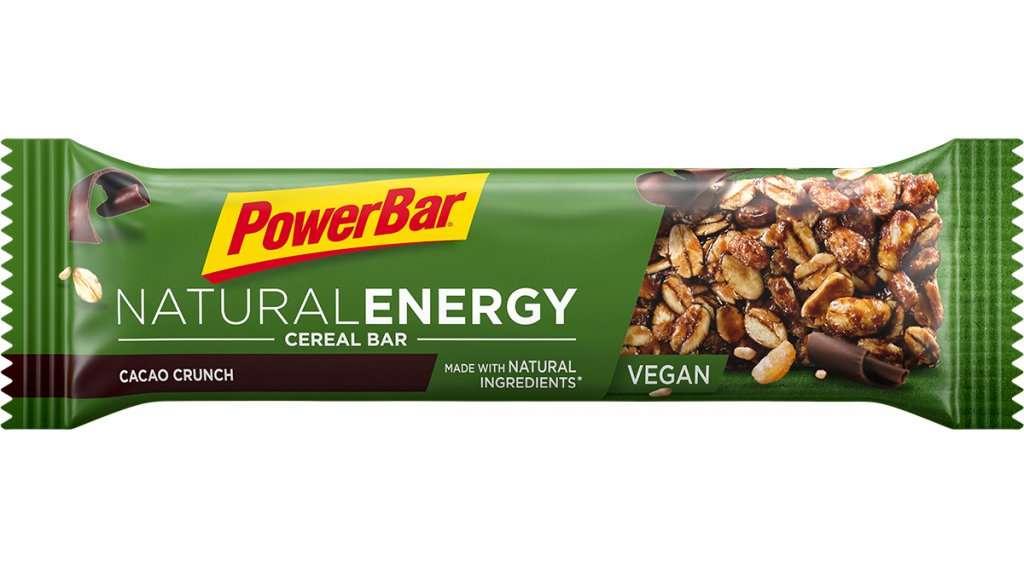 PowerBar Natural Energy Cereal Cacao Crunch 40g-Riegel (vegan)
