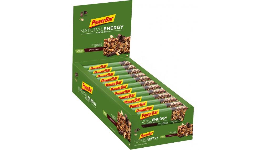 PowerBar Natural Energy Cereal Cacao-Crunch Box mit 24*40g-Riegel (vegan)