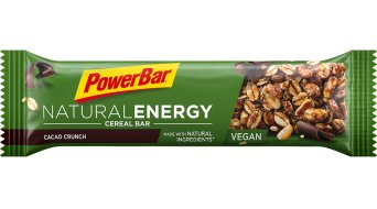 PowerBar Natural Energy Cereal Cacao-Crunch Box mit 24*40g-Riegel (vegan)