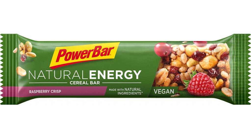 PowerBar Natural Energy Cereal Raspberry Crisp 40g-Riegel (vegan)