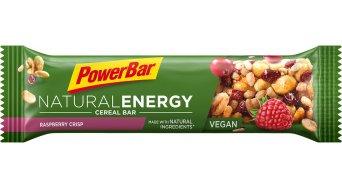 PowerBar Natural Energy Cereal Raspberry Crisp Box mit 24*40g-Riegel (vegan)