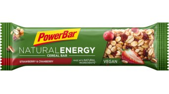 PowerBar Natural Energy Cereal Strawberry-Cranberry Box mit 24*40g-Riegel (vegan)