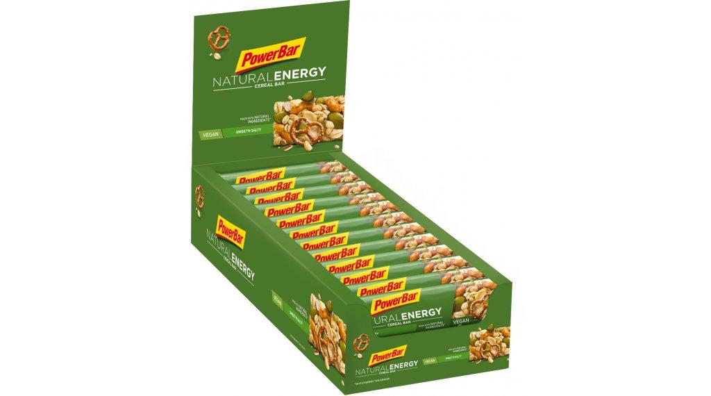 PowerBar Natural Energy Cereal Sweetn Salty Box mit 24*40g-Riegel (vegan)