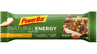 PowerBar Natural Energy Fruit Apple Strudel barra (vegan)