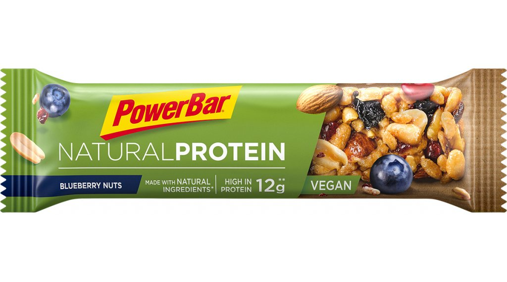 PowerBar Natural Protein Blueberry Nuts 40g-Riegel