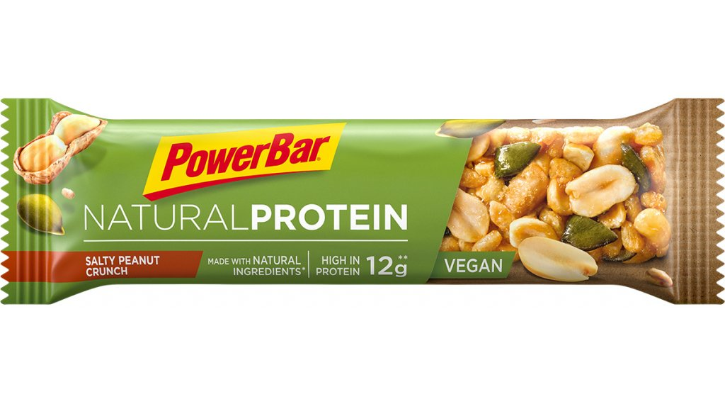 PowerBar Natural Protein Salty Peanut Crunch 40g-Riegel