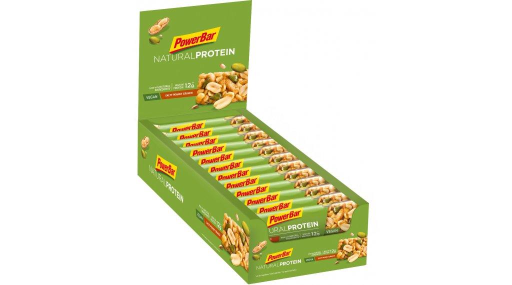 PowerBar Natural Protein Salty Peanut Crunch Box mit 24*40g-Riegel