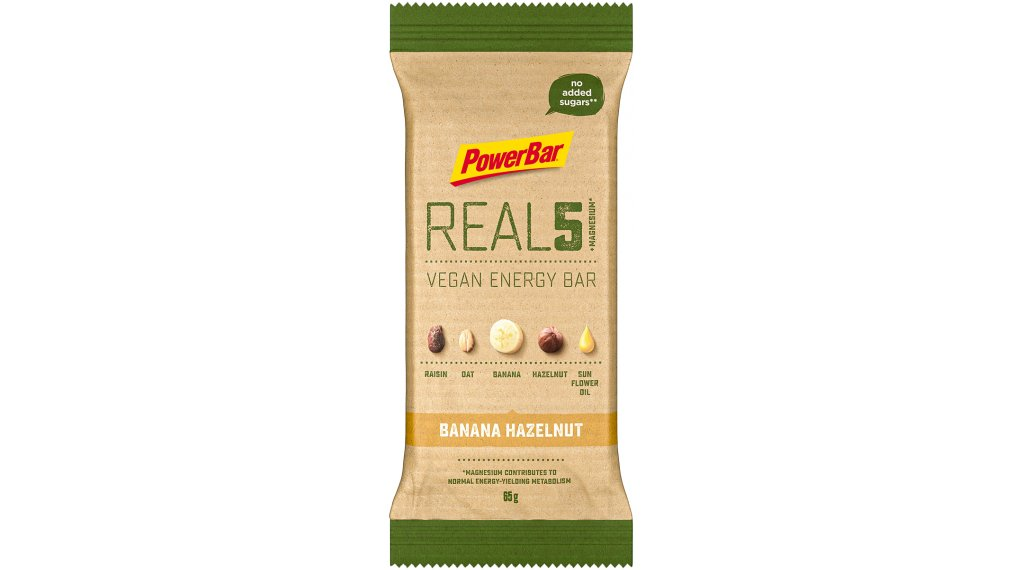 PowerBar Real 5 Banana Hazelnut 65g-Riegel