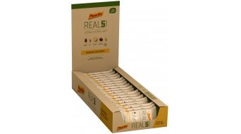 PowerBar Real 5 Banana Hazelnut Box mit 18*65g-Riegel