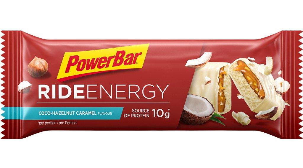 PowerBar Ride Energy Coconut-Hazelnut-karamella 55g-szelet