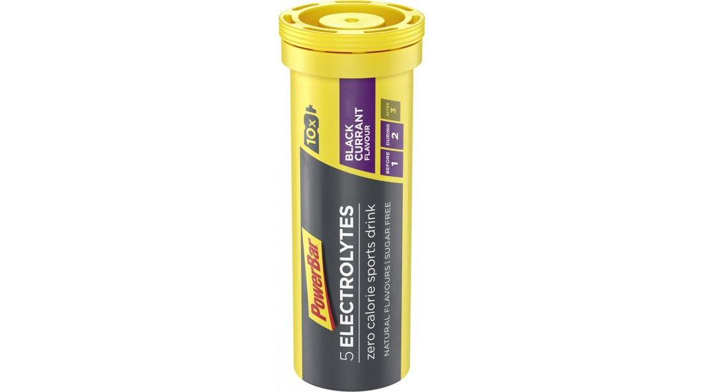 PowerBar 5 Electrolytes Drink Black Currant 10 Tabs-Röhrchen