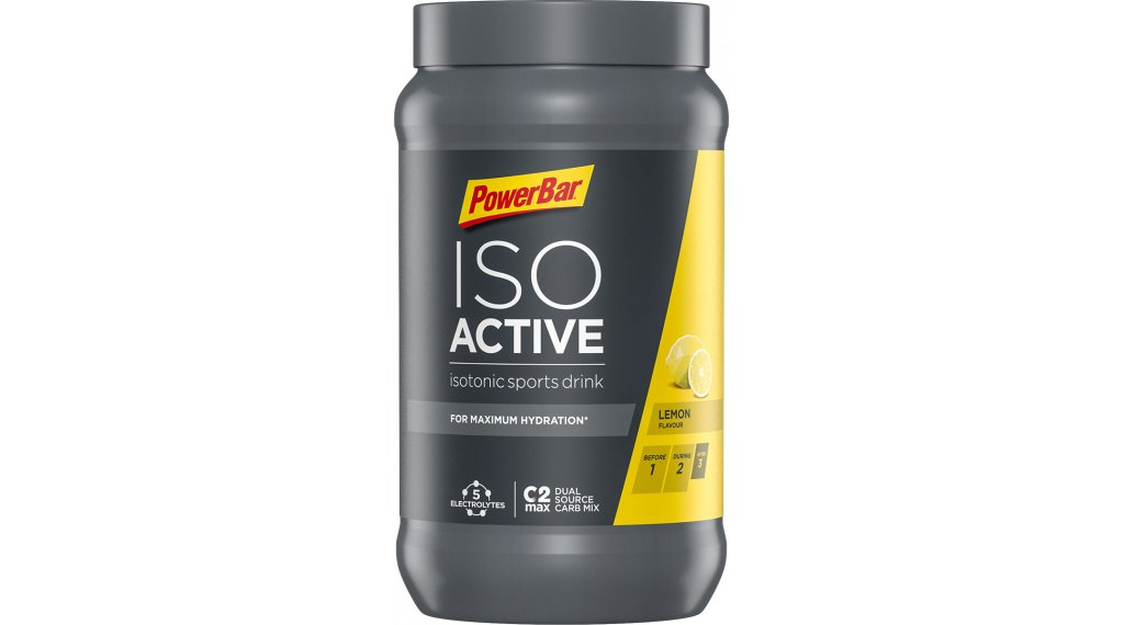 PowerBar New Isoactive New Isotonic Sports Drink Pulver Lemon 600g-Dose
