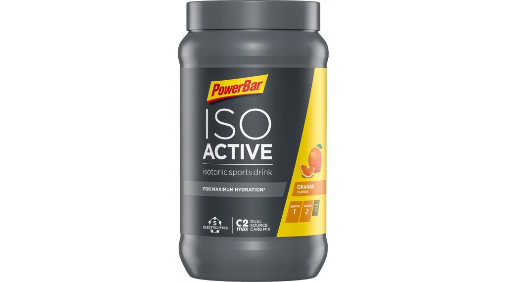 PowerBar New Isoactive New Isotonic Sports Drink Pulver Orange 600g-Dose