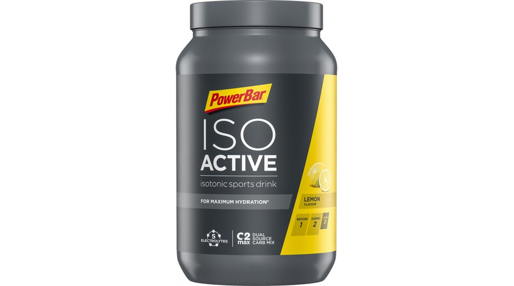 PowerBar New Isoactive New Isotonic Sports Drink Pulver Lemon 1320g-Dose