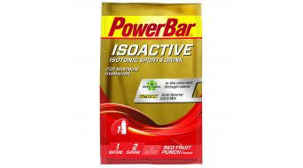 PowerBar Isoactive isotonic Sports Drink Pulver Red Fruit Punch 33g-Beutel