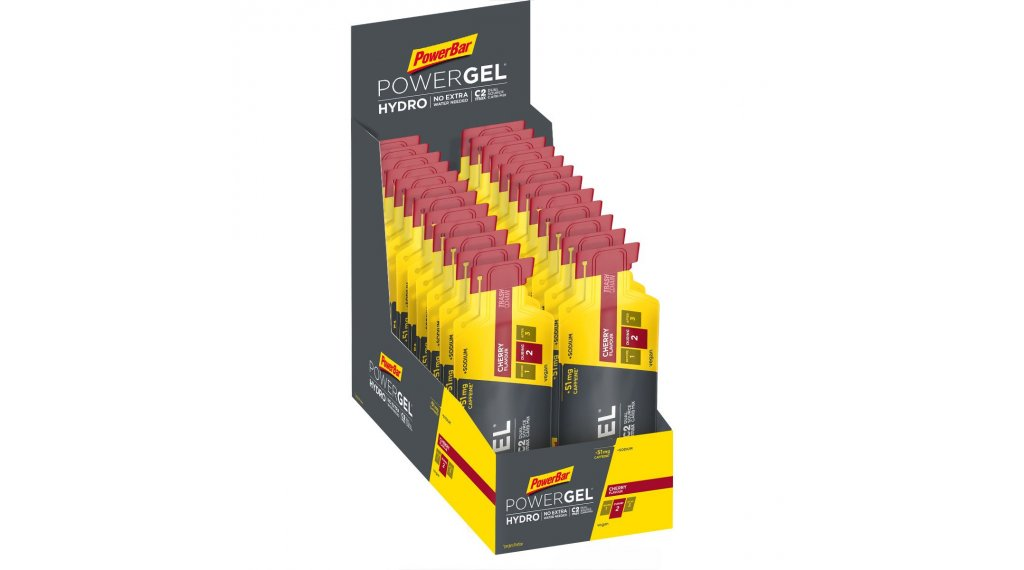 PowerBar Powergel Hydro Cherry Box 有24*67ml-袋 (有咖啡因)