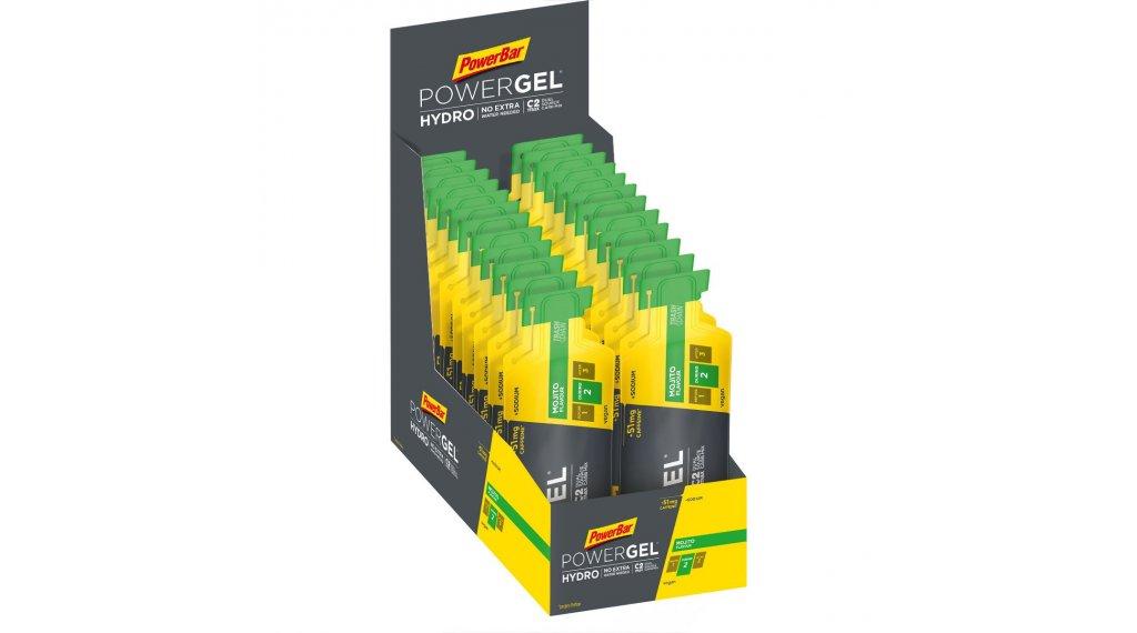 PowerBar Powergel Hydro Mojito Box mit 24*67ml-Beutel (mit Koffein)