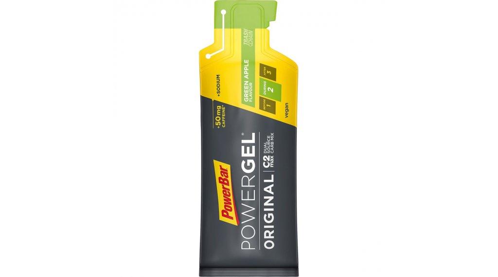 PowerBar Power gel originál Green Apple 41g-sáček (s Koffein)
