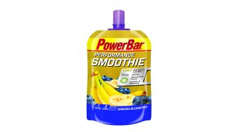 PowerBar Performance Smoothie Banana Blueberry 90g- sacchetto- Mindesthaltbarkeit 09/2017