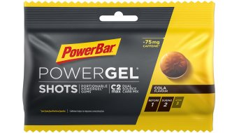 PowerBar Power gel Shots Cola Box  with  24*60g- pack (with  caffeine)