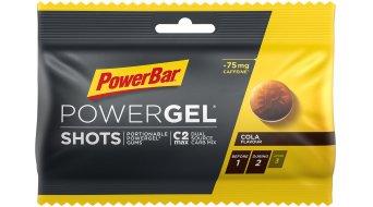 PowerBar Powergel Shots Cola Box mit 16*60g-Beutel (mit Koffein)