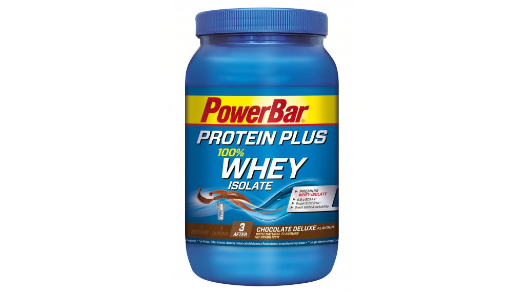 PowerBar Whey Isolate 100% Shake-Pulver Chocolate Deluxe 570g-Dose