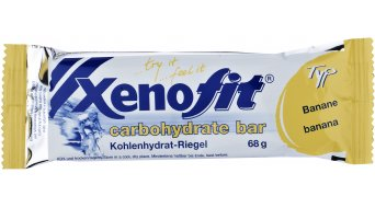 Xenofit carbohydrate bar barre 68g banane