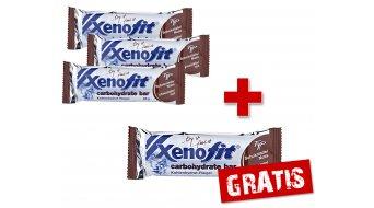 Xenofit carbohydrate bar Riegel 68g Schokolade-Nuss - 3+1 AKTION