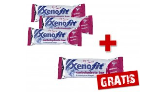 Xenofit carbohydrate bar Riegel 68g Wildbeere - 3+1 AKTION