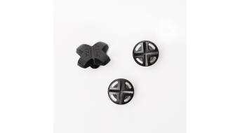 Fox 2014 Visor juego de sujeciones Plastic negro