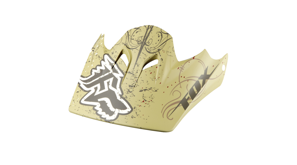 Fox Rampage Ersatzvisier matte bronze
