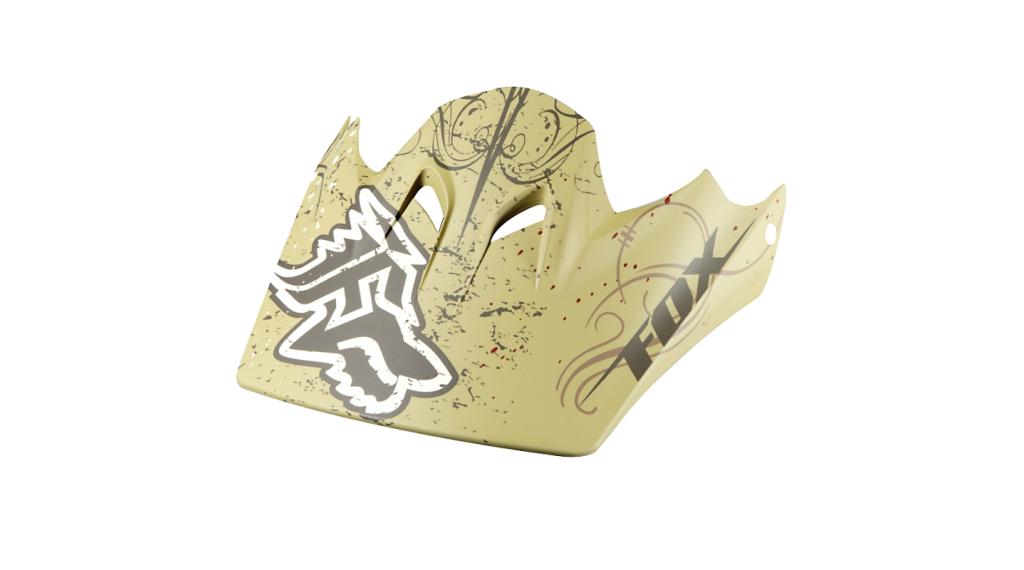 Fox Rampage 备用风挡 matte bronze