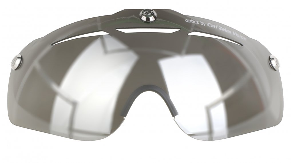 Giro Ersatzscheibe Air Attack Shield gray/silver flash
