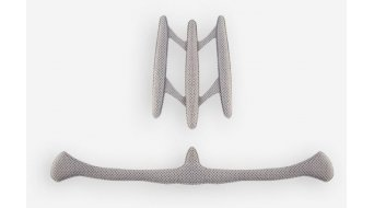 MET Xilo helmet-replacement pads dark grey