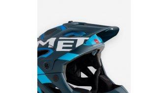 MET Parachute Helm-Ersatzvisier blue