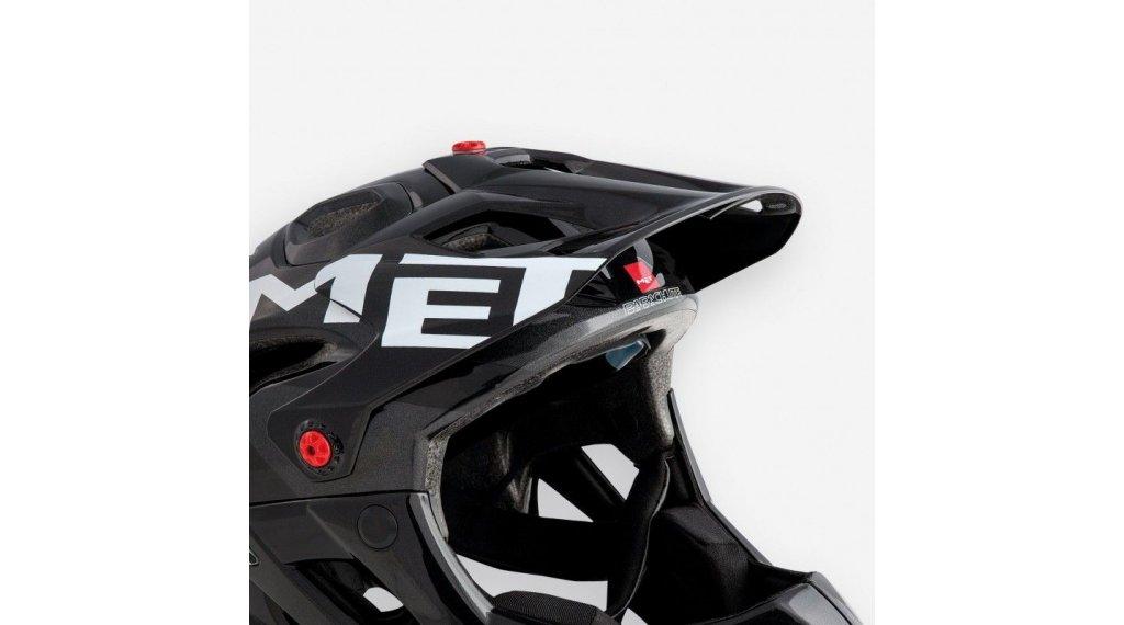 MET Parachute Helm-Ersatzvisier metallic black