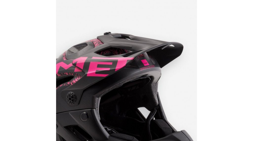 MET Parachute Helm-Ersatzvisier black pink