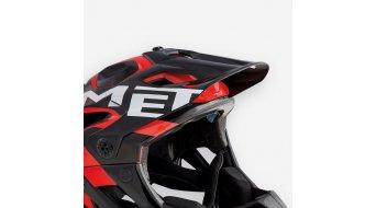 MET Parachute Helm-Ersatzvisier black white/glossy
