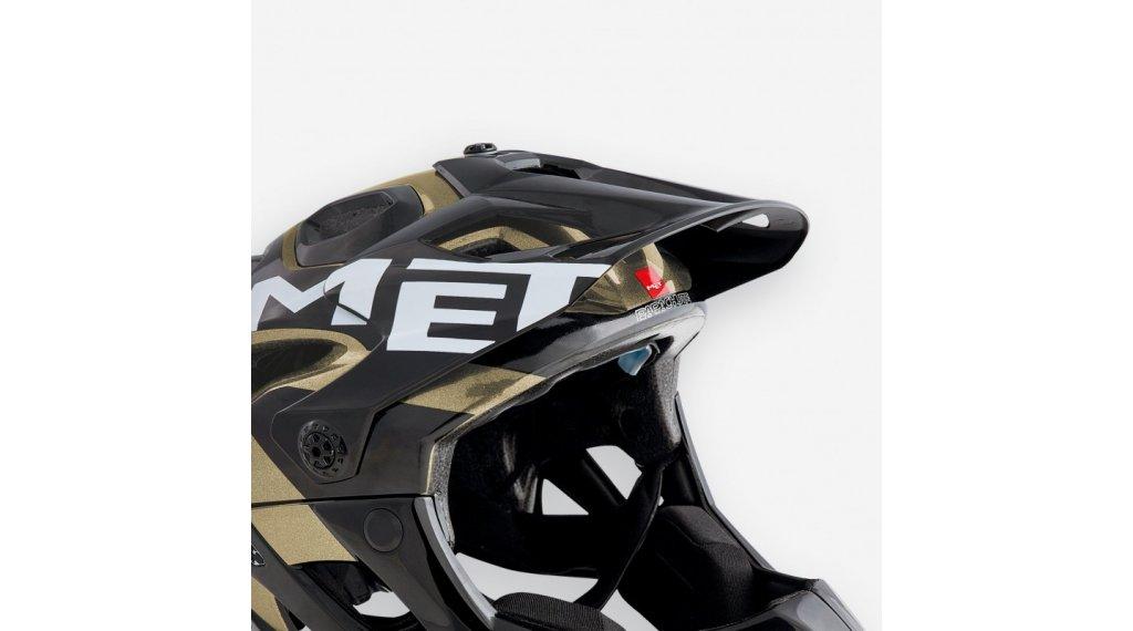 MET Parachute Helm-Ersatzvisier black white glitter/glossy