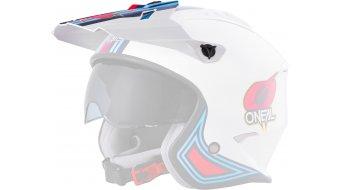 ONeal Volt MN1 Ersatzvisier white/red/blue