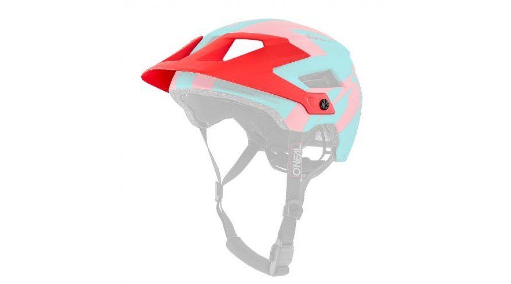ONeal Defender 2.0 Helm Sliver Ersatz-Visier teal/red Mod. 2019